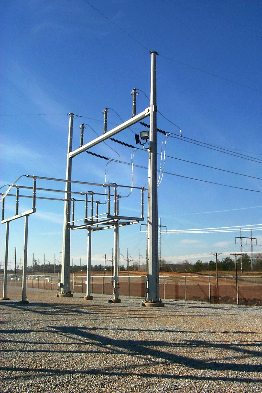 HFrame Substation Structure