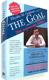 the goal theory of constraints The theory of constraints (toc) key lessons from the goal business using goldratt's theory of constraints, ibm press, 2008.