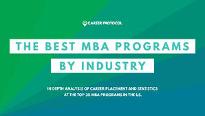 02 The Best MBA Programs by Industry