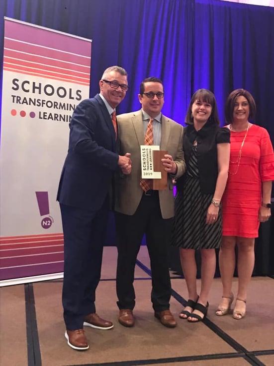 027-Press Elementary Wins Award for Innovative Learning