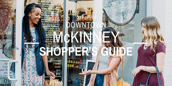028-A Downtown McKinney Shopping Spree Could Be Yours