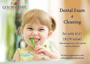 Spring Special - $53 For Dental Exam & Cleaning