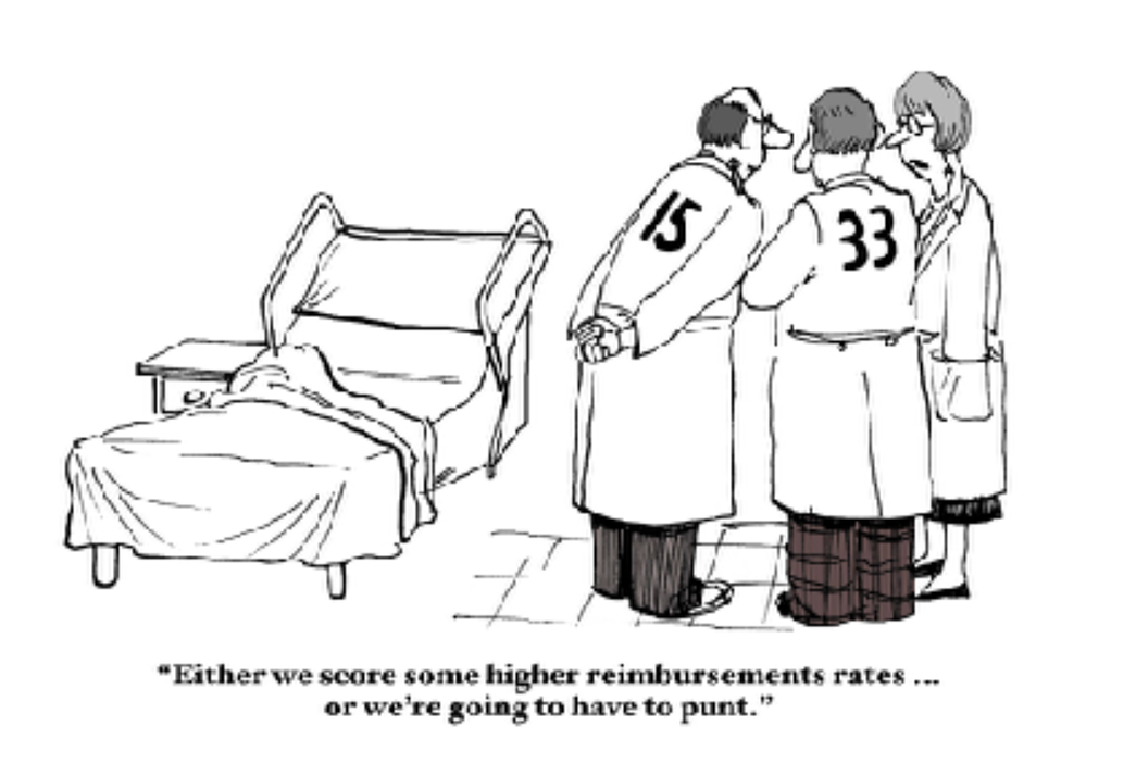Can a small physician practice negotiate higher reimbursement rates?