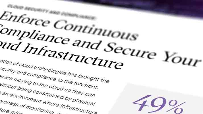 Enforce Continuous Compliance & Secure Your Cloud Infrastructure