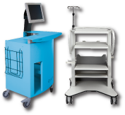 custom medical cart gallery
