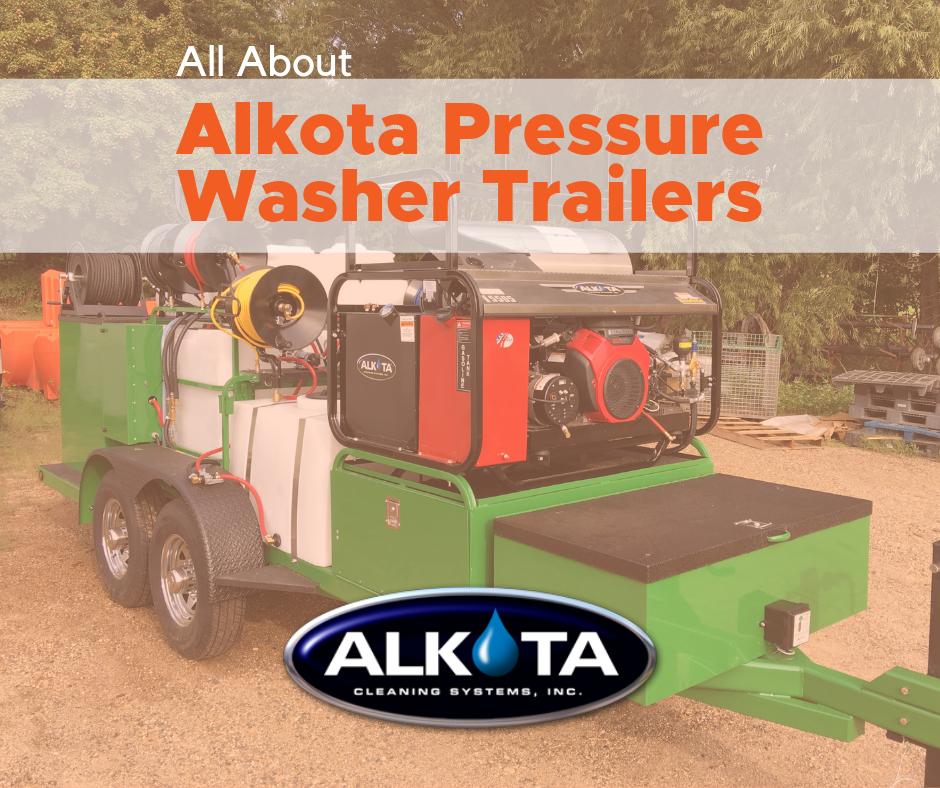 Alkota Pressure Washer Trailers