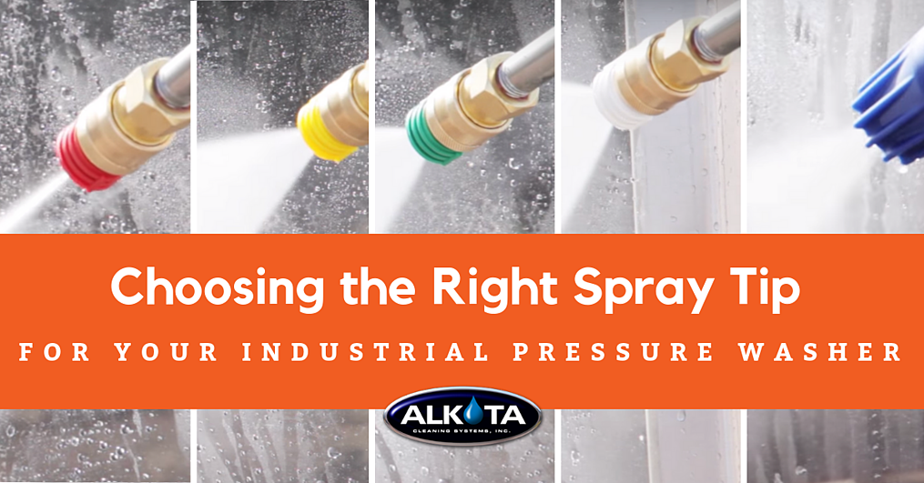 Choosing the Right Spray Tip for Your Industrial Pressure Washer - FB
