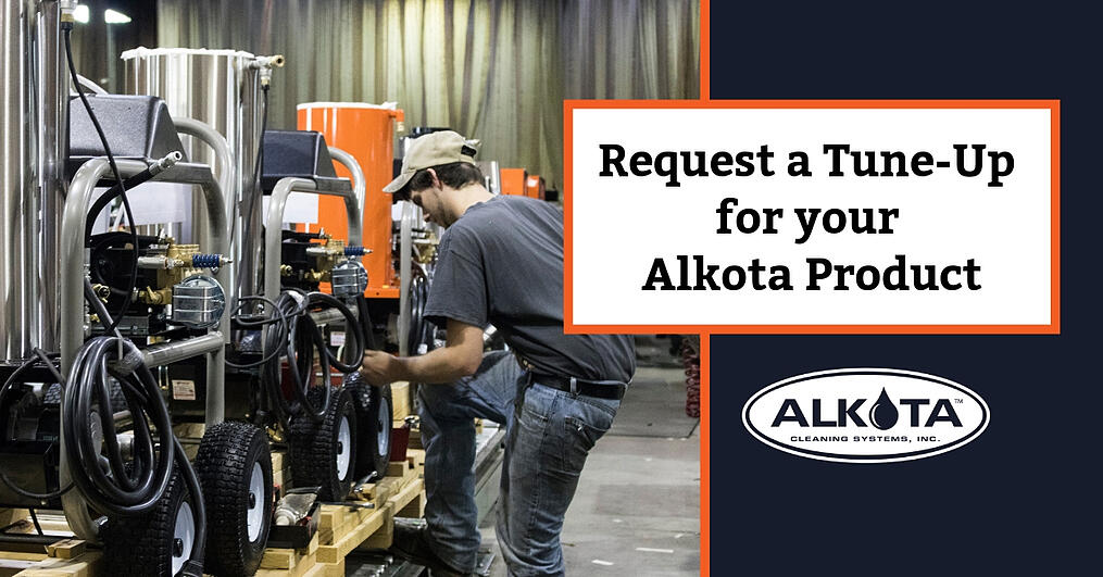 Copy of Request a Tune-Up for Your Alkota Product