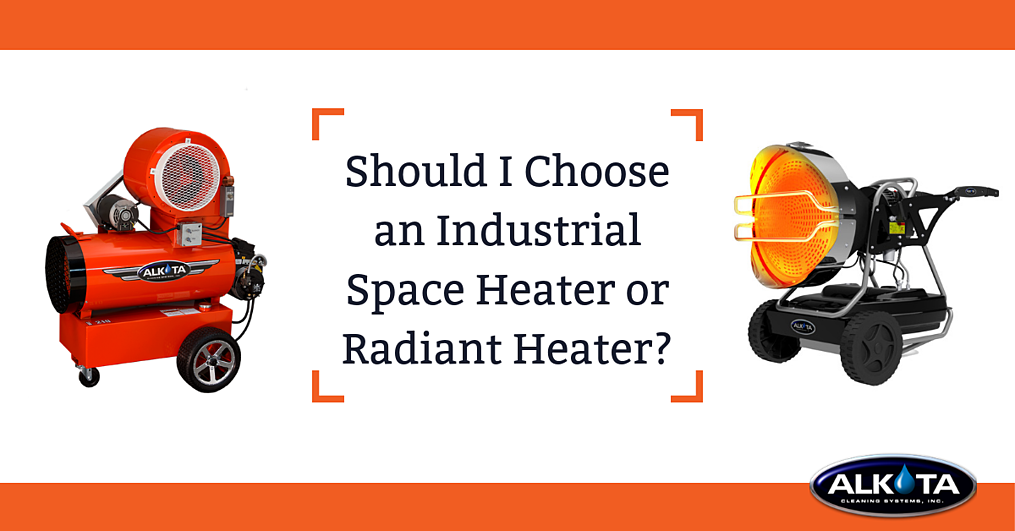 Should I Choose an Industrial Space Heater or Industrial Radiant Heater - FB
