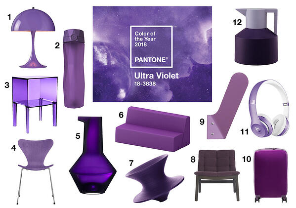 How to incorporate Pantone's colour of the year into your home