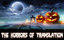 How to avoid the horrors of translation