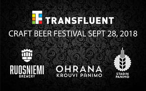 Craft Beer Festival at Transfluent Day!