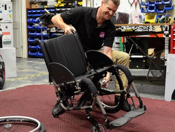 Manual Wheelchair Maintenance for Clinicians