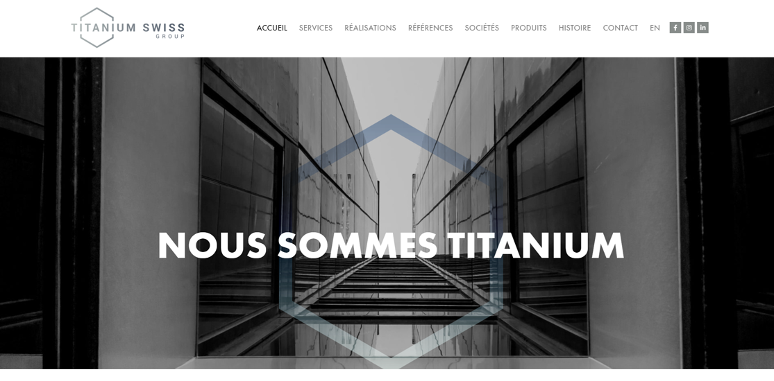 home page- Titanium Swiss Group