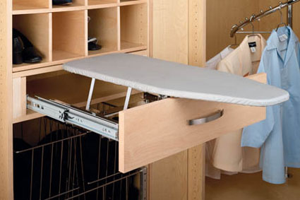 Custom Closet System | Ironing Board