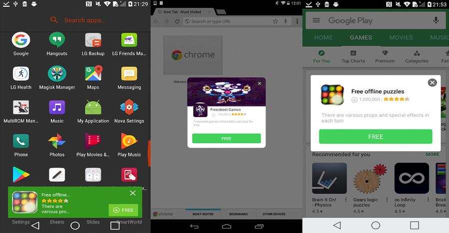 Android devices ship with pre-installed malware