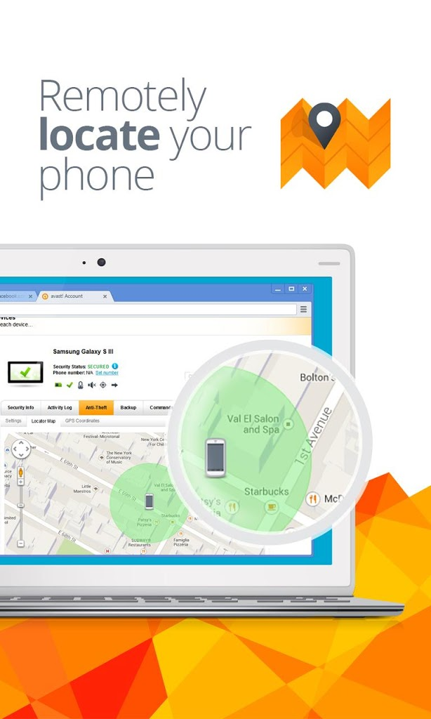 Locate stolen mobile phone with avast! Anti-Theft