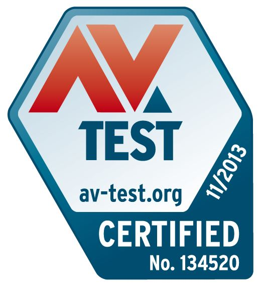 AV-Test certification Nov2013