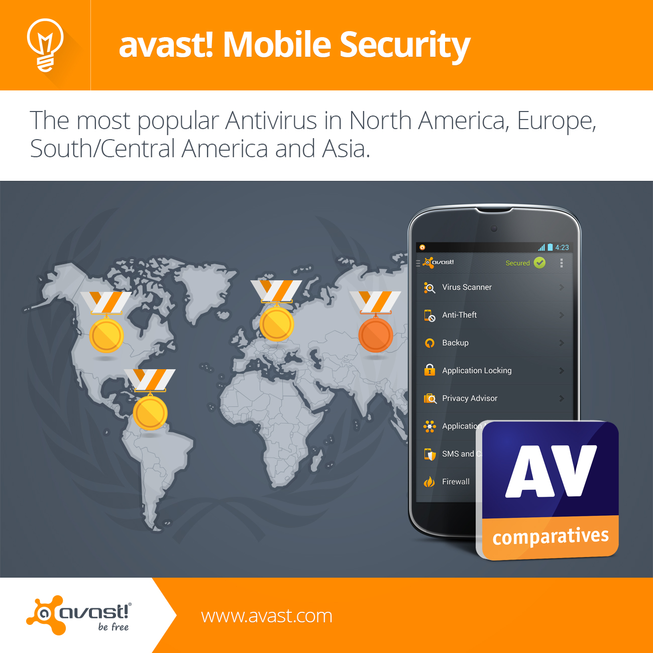 AVcomp mobile security