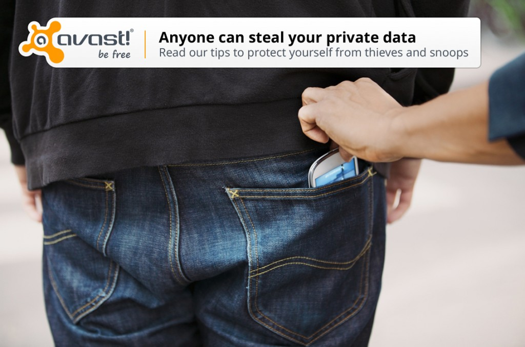 avast! Mobile Security anti-theft helps track your lost phone