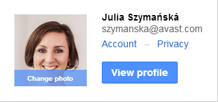 Privacy settings G+