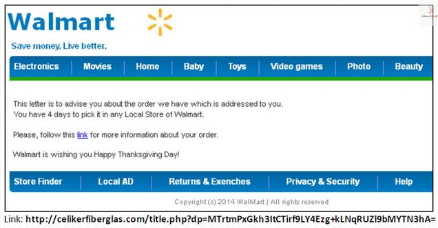 Fake Confirmation Emails From Walmart Home Depot Others In Circulation - How to create a invoice walmart online shopping store pickup