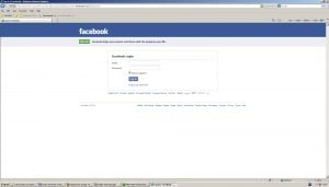 Fake Facebook Login Pages Spreading By Facebook Applications