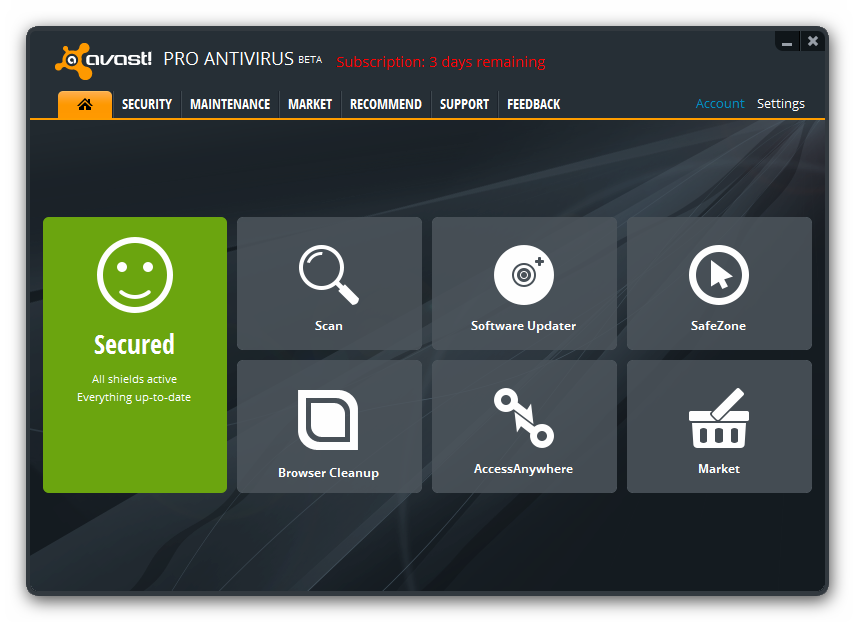 The avast! 8 User Interface: A study of change
