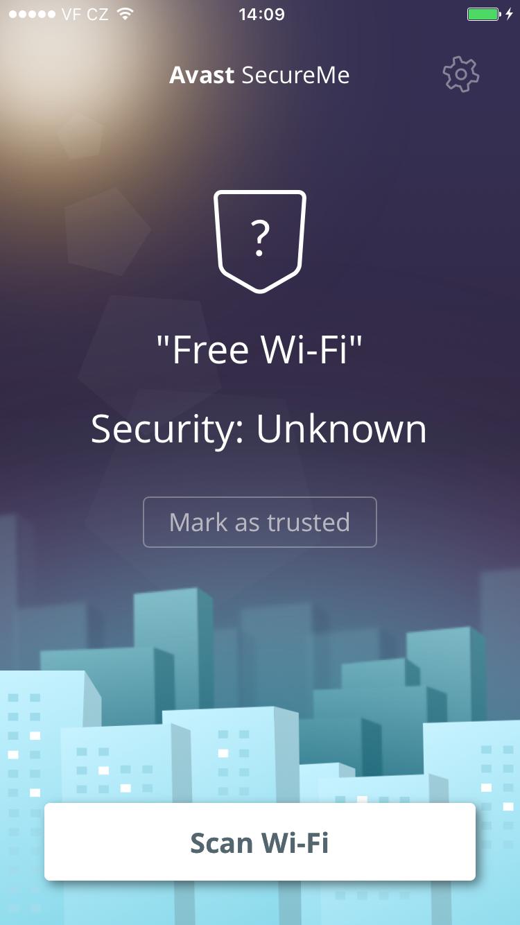 avast secure me app