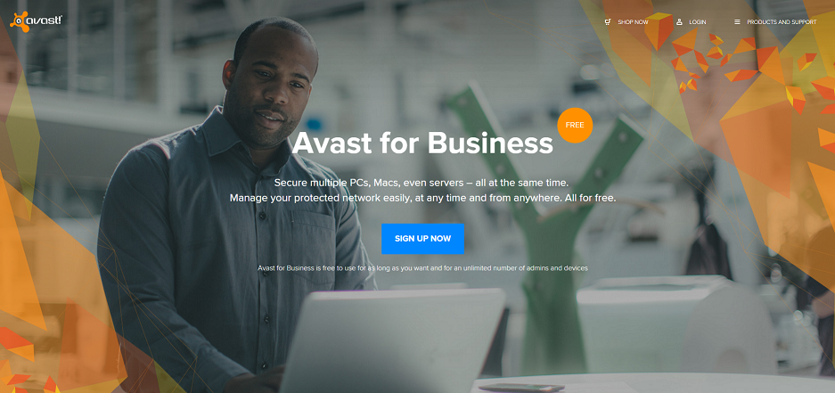 Avast for Business is the best software for small business
