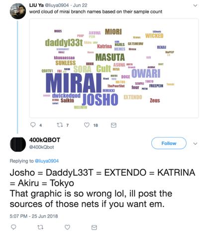 hacker-tweet-about-mirai-botnets