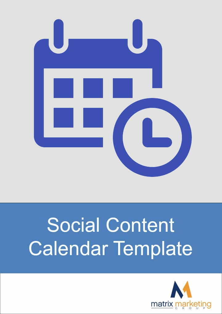 Content Calendar Resource