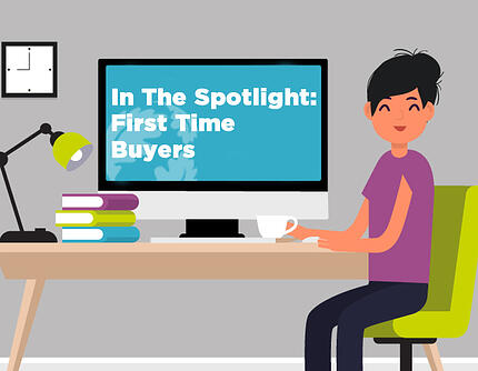 In the spotlight first time buyers thumb