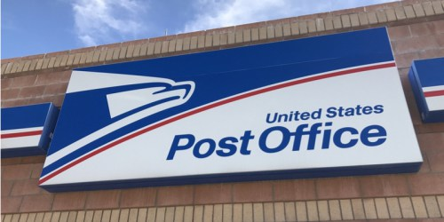 USPS outdoor building sign