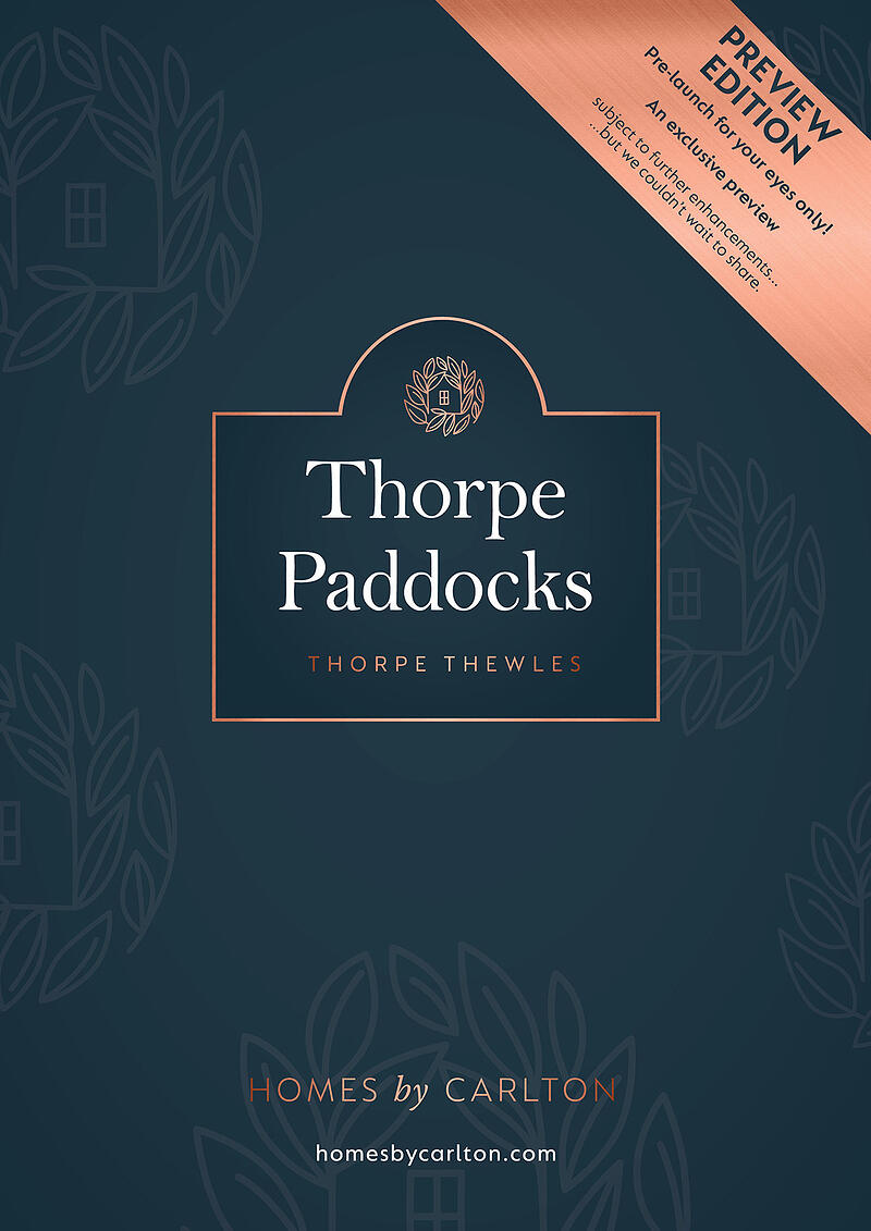 Brochure - thorpe paddocks v1