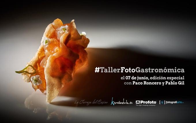 Cartel Taller Paco Roncero Pablo Gil Horizontal