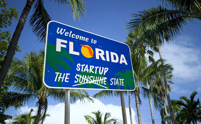 From Sunshine State to Startup State