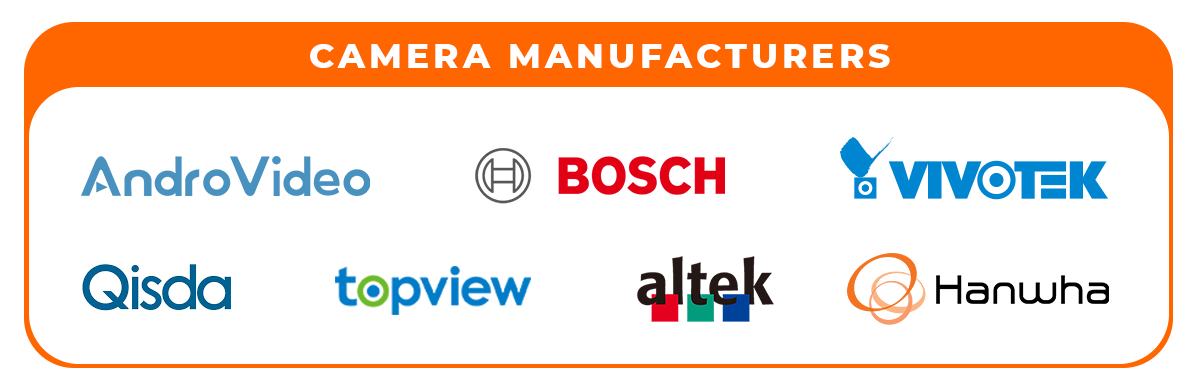 Infographic - camera manufacture partners