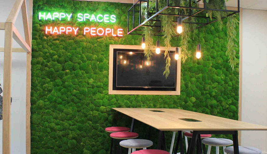 The Benefits of Biophilic Workplace Design