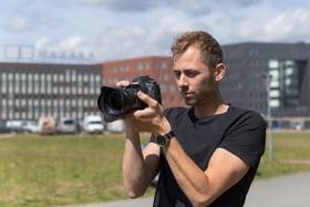 Een dagje mee met vastgoedfotograaf Tommy.