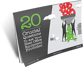 20 Crucial Questions To Ask Your Next Office Equipment Provider