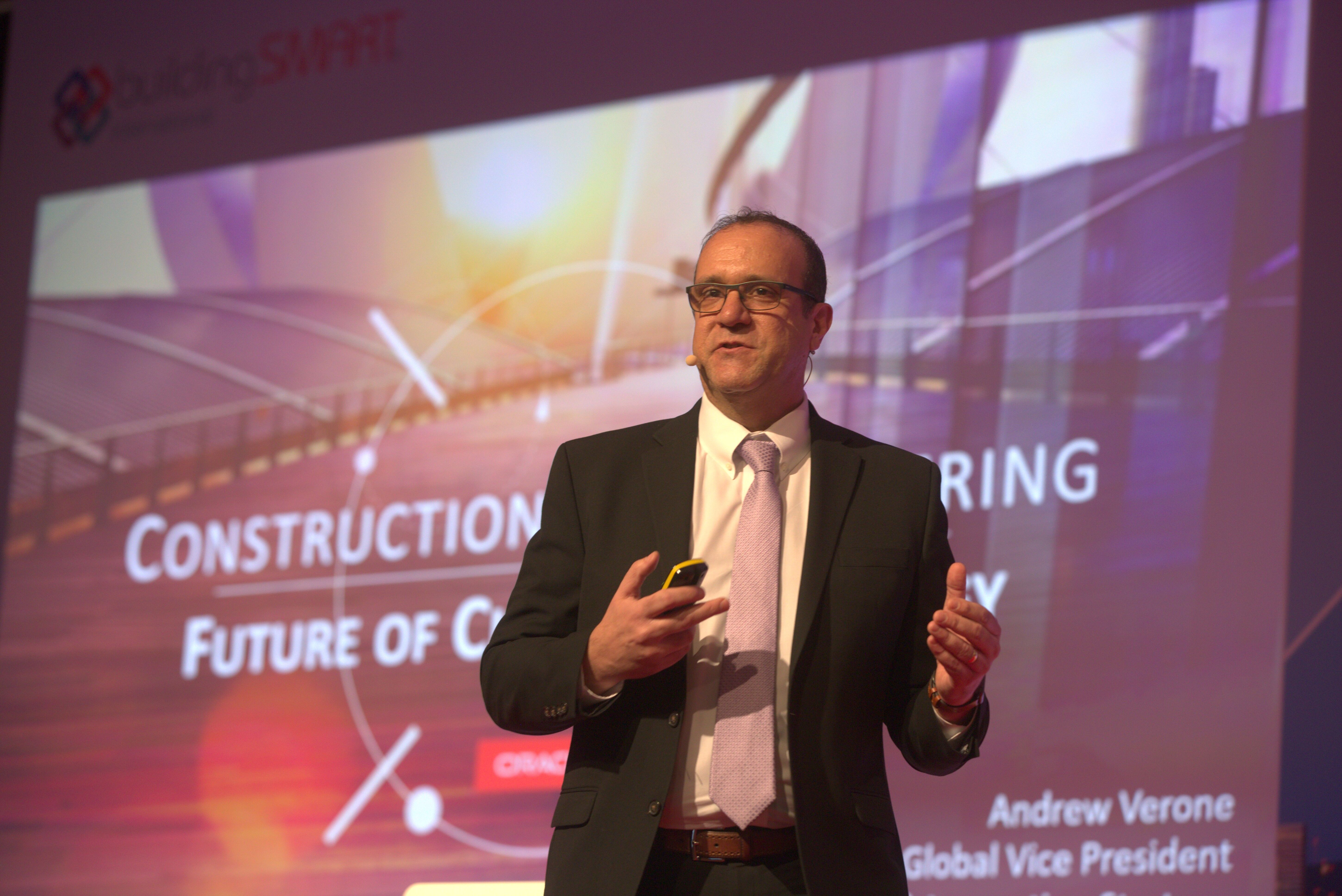 12. Andy Verone, Vice President, Construction and Engineering, Oracle