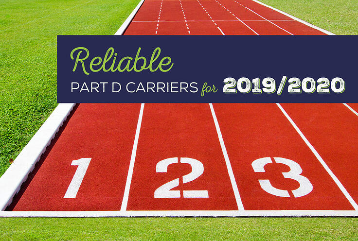 Reliable Part D Carriers for the 2019/2020 AEP