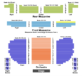 Eugene O'Neill Seating Chart + Section, Row & Seat Number Info