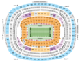FedExField Seating Chart + Section, Row & Seat Number Info