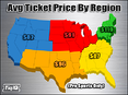 The Northeast, Illinois Lead The Way In Secondary Market Ticket Prices