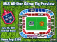 2011 MLS All-Star Game Ticket Price Overview