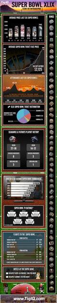 The TicketIQ Super Bowl XLIX Infographic