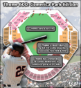 Comerica Section 105 Likliest Landing Spot for Thome 600 During 3-Game Set vs. Tigers
