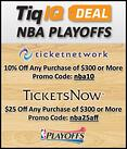 TicketIQ NBA Playoffs Ticket Deal